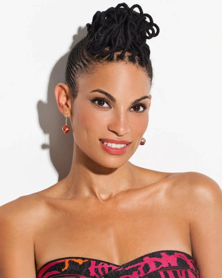 Love Cornrows for easy summer hairstyles