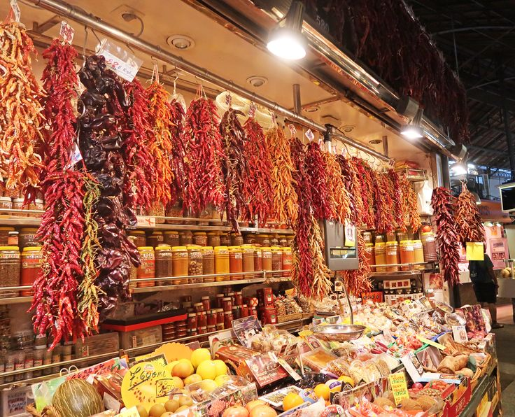 48 Hours In Barcelona, Spain - La Boqueria Market