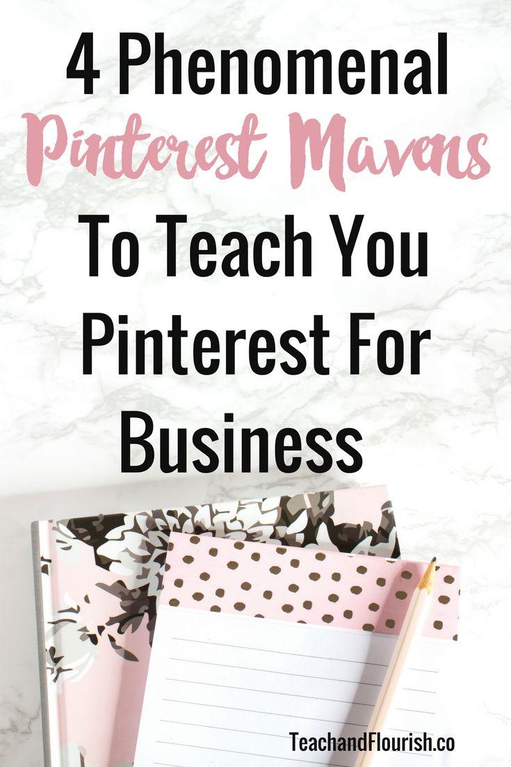 4 Phenomenal Pinterest Mavens To Teach You Pinterest For Business