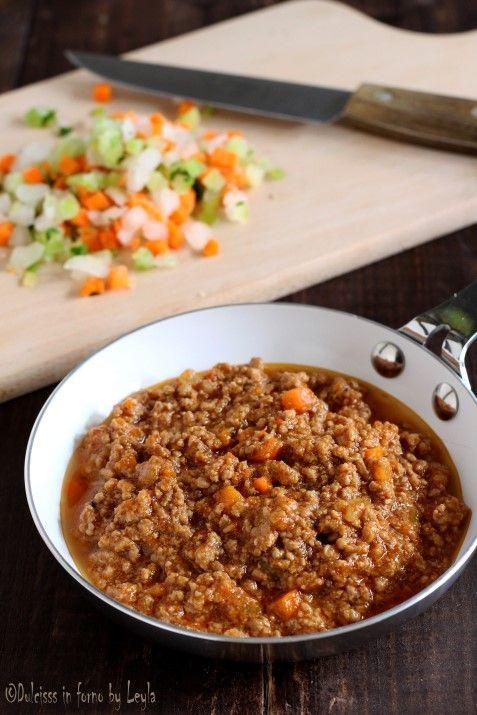 Ragù di carne alla bolognese Dulcisss in forno by Leyla