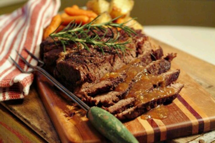 Pot Roast with rosemary and garlic | Chucky's Favorites | Pinterest