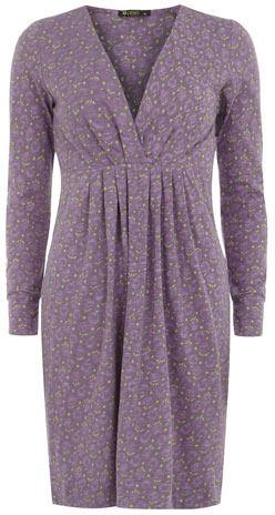 Longo vestido estampado manga $ 27,00 thestylecure.com