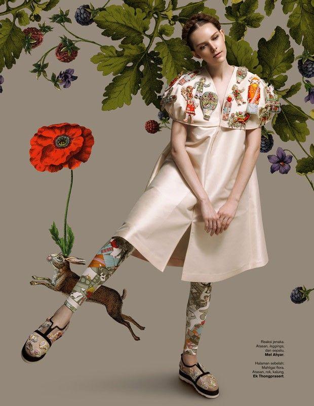 Carol for Harper's Bazaar Indonesia by Ryan Tandya