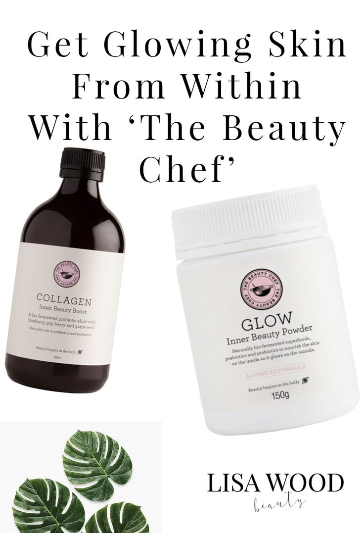 Glow From The Inside Out with The Beauty Chef Glow Poswer and Collagen Elixir. A complete daily beauty supplement suitable for anyone wanting to improve skin tone and texture for radiant skin that lasts. Full Review at lisawoodbeauty.com