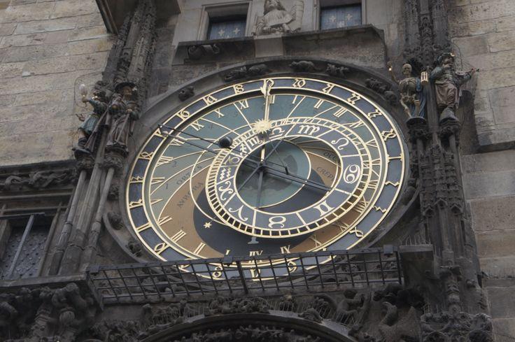 astronomical clock^old town square^prague^october 2012