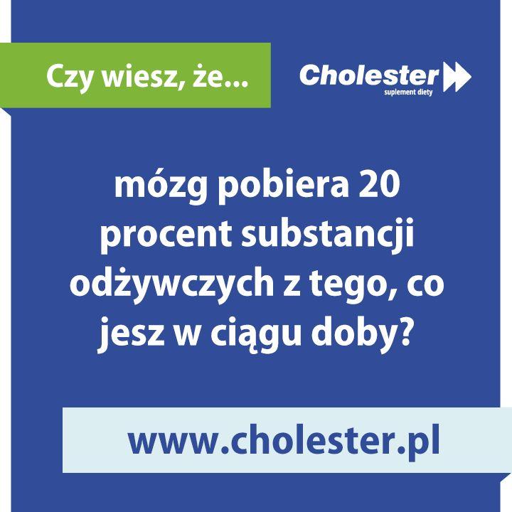 A Twój mózg, co dziś dostał na obiad?   #cholester #dieta #mozg #pozywienie