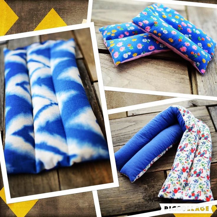 I mentioned earlier today that heating pads make great gifts so I wanted to share some details with you:  1)RH&B offers three sizes of heating/cooling pads:  1XL - good for period cramps lower back pain pregnancy comfort digestive issues muscle pain in any of the large muscle groups 2 Large - perfect size and shape for sore neck and shoulders and still very useful in all of the uses for XL 3 Small - comes in a set of two handheld packs for children's owies small scrapes/burns eye masks sore