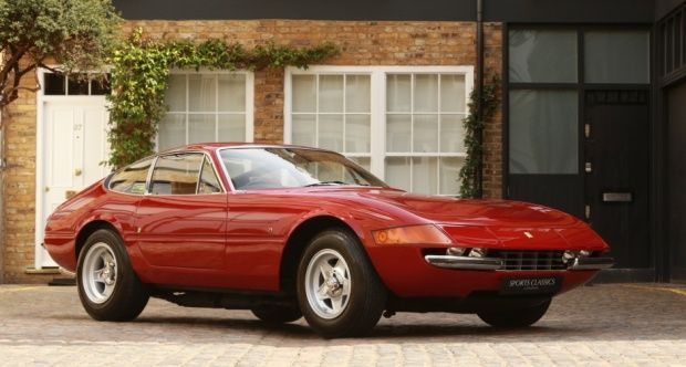 1972 Ferrari 365 Gtb 4 Daytona Right Hand Drive Uk Supplied