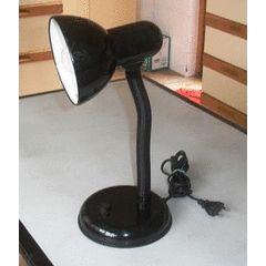 Retro black desk lamp.approx. 32cmh x 20w for R120.00