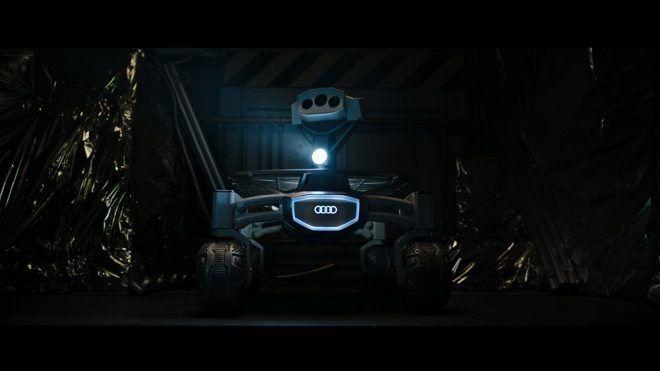 Audi'nin Ay'da araştırma yapması için özel bir ekiple geliştirdiği lunar quattro, önümüzdeki ay vizyona girecek olan Alien: Covenant filminin korkutucu dünyasında beyaz perdeye konuk oldu.                Audi'nin 16 kişilik bilim adamının oluşturduğu bir grup ile birlikte geliştirdiğini...   http://havari.co/audinin-uzay-araci-lunar-quattro-ilk-kesfine-alien-dunyasinda-cikti-video/