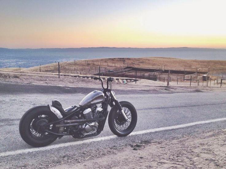 Honda Shadow Vt600 Hardtail Custom With Staggered Mid