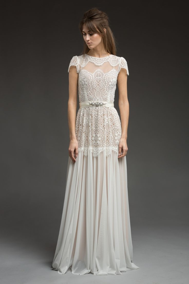 Avery Wedding Dress From Morning Mist Bridal Collection By Katya Shehurina