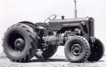 | This is a first Valmet Tractor assembled in Brazil. MWM engine 3 ...
