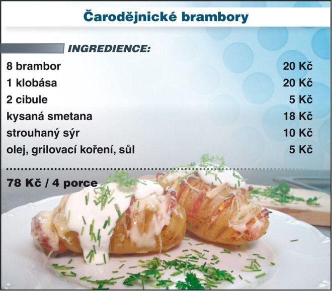 Levně a chutně s Ladislavem Hruškou - Čertické brambory