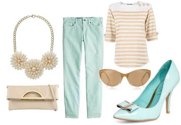 mint shoes outfit