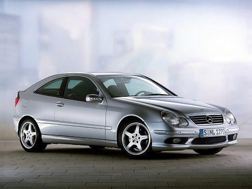 Mercedes-Benz C 230 Kompressor Sportcoupe (2001 – 2005).