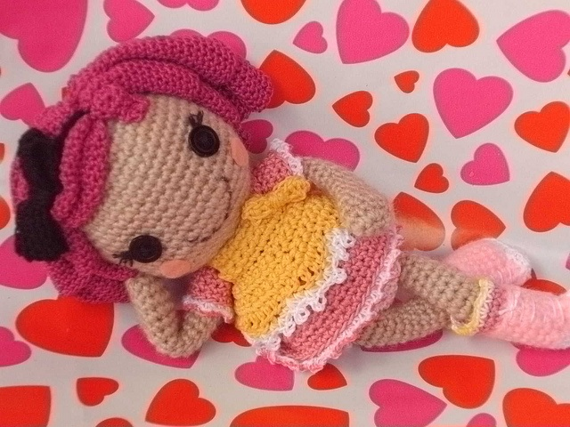 Amigurumi Doll Lalaloopsy Pattern : Best amigurumi lalaloopsy images crochet dolls