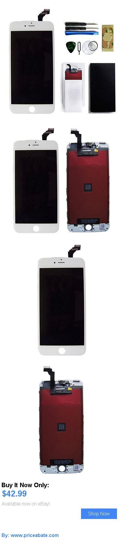 general for sale: White Lcd Display Touch Screen Digitizer Assembly For Iphone 6 Plus 5.5 Oem BUY IT NOW ONLY: $42.99 #priceabategeneralforsale OR #priceabate