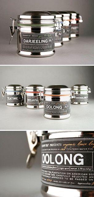 Tea Packaging Concept by Kristen Haff