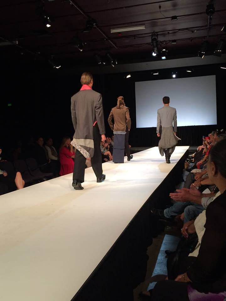 Avante Garde Mens Tail Coats .. CATWALK FOR WHANAU New Plymouth NZ.