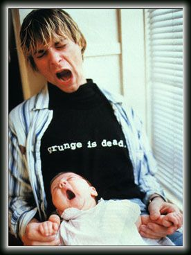 Kurt Cobain (20 February 1967 – c. 5 April 5 1994), the day the music died. Such a talented guy, with so much achieved and so much more to give