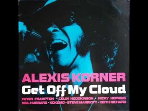 Alexis Korner with Steve Marriott, Peter Frampton & Keith Richards - Get Off My Cloud - NICE !!!