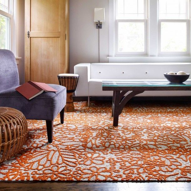 Floweret Carpet SquaresPatterned CarpetRugs For Living RoomRoom