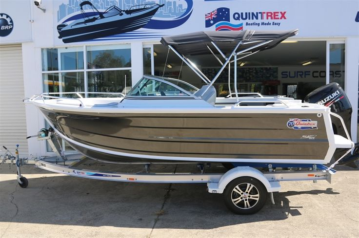 Surf Coast Marine | 2016 QUINTREX 490 CRUISEABOUT | Quintrex Gold Coast | Quintrex Boats | Quintrex Evinrude E-Tec | Stejcraft Boats Boats For Sale |