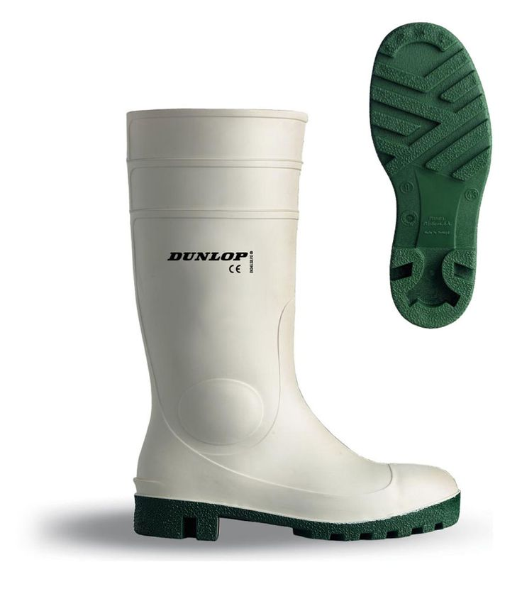 Dunlop Protomastor Safety Welly White Wellington Boot Wellies 3-13 Waterproof in Business, Office & Industrial, Industrial Supply/MRO, Protective & Safety Gear | eBay