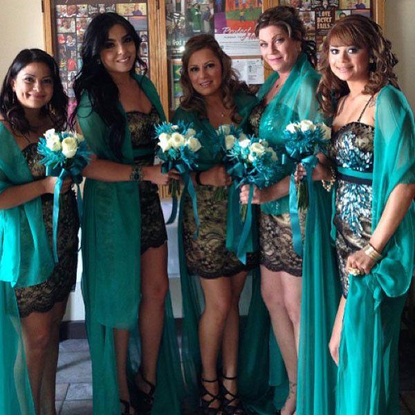 Sheer Disaster From Ugly Bridesmaid Dresses