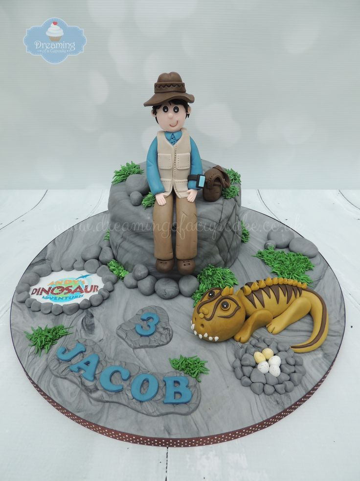 Th Birthday Cake Dino