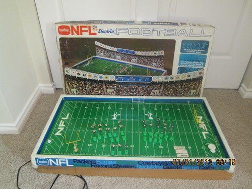 Vintage Tudor NFL Electric Football Game