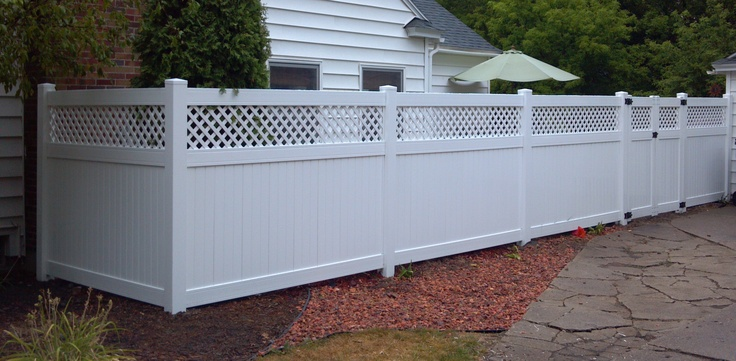 1000+ Ideas About Vinyl Privacy Fence On Pinterest