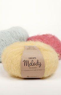 DROPS Melody värvikaart ~ DROPS Design