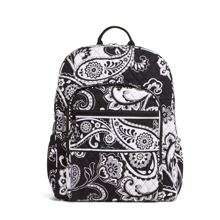 Vera Bradley Campus Backpack in Midnight Paisley-Vera Bradley 50% off Sale Going on Right Now @poshonabudget http://poshonabudget.com/2016/03/vera-bradley-50-off-sale-going-on-right-now.html