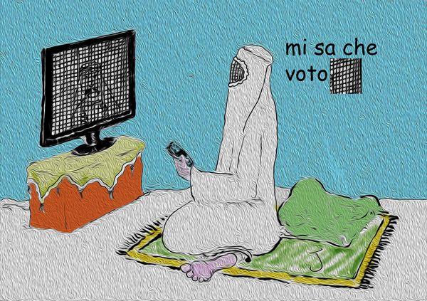Il voto dell'italiana convertita...
