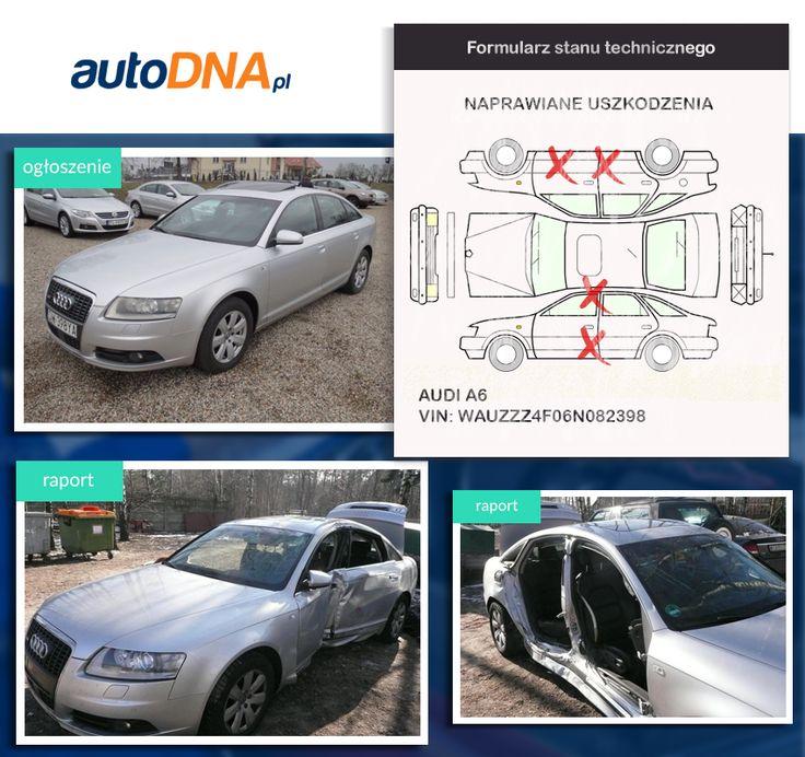 Baza #autoDNA - #UWAGA! #Audi #A6 https://www.autodna.pl/lp/WAUZZZ4F06N082398/auto/8bb7d444e372e201e6356a21112605e9403e9666 https://www.otomoto.pl/oferta/audi-a6-bardzo-bogate-wyposazenie-ID6yMb8z.html