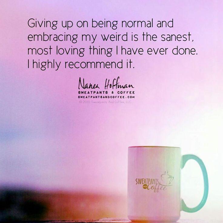Embrace your weird.