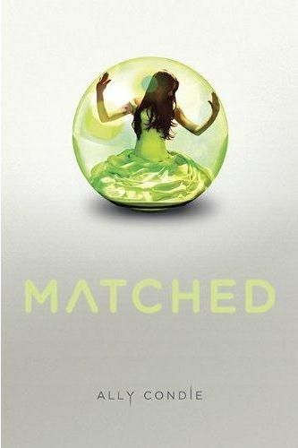 Matched. I pretend I read teen books so I can relate to my students when really I just like them. Haven't read yet.
