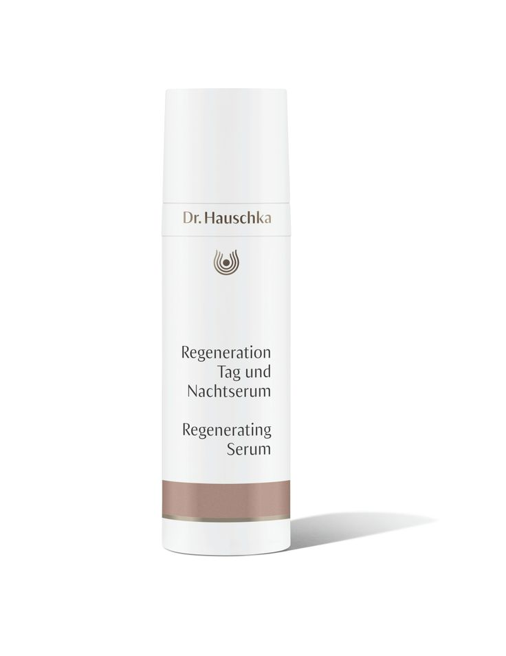 Regenerating Serum in a new design supports the skin's natural regenerative functions, helping to firm mature skin and minimise the appearance of fine lines and wrinkles. Sensitive mature skin is cooled and calmed.