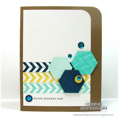 Stampin' Up!: Two Happy Stampers: A Week of Masculine Cards.