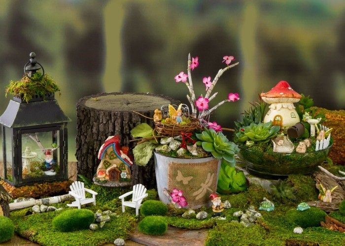 Gnome In Garden: 17 Best Images About Fairy Gardens & Gnome Homes On