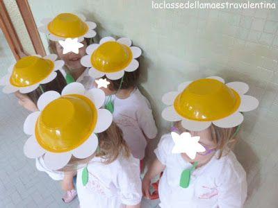 Disfraz de Margarita con una bolsa blanca en el cuerpo perfecta | http://www.multipapel.com/subfamilia-bolsas-disfraces-educacion-infantil-pequenas.htm