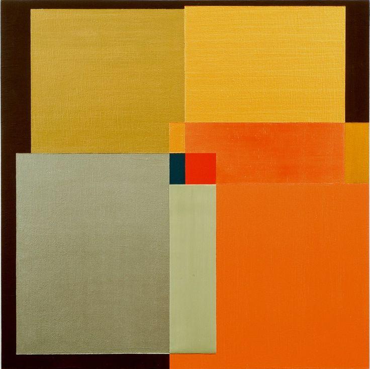 """Muchas veces no todo me cuadra como imaginaba. Lo hace de otra forma / Barbara Kerwin; Acrylic, 2012, Painting """"Window XII"""""""