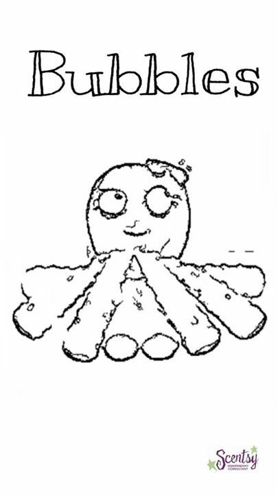 scentsy coloring pages - 78 best images about scentsy buddies on pinterest