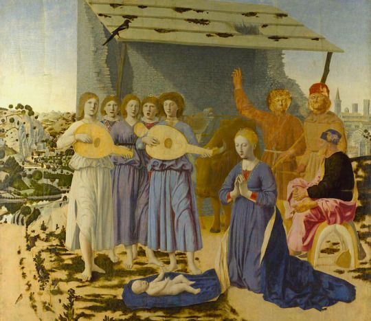 Piero Della Francesca:  Nativity  (1470s)