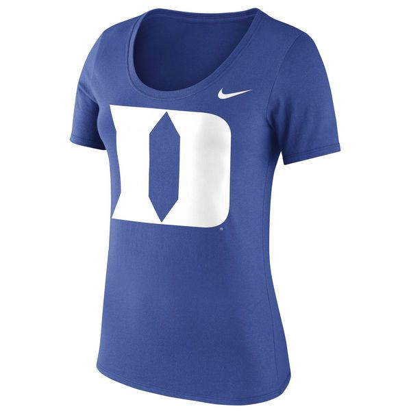 Duke Blue Devils Nike Women's Logo Crew Neck T-Shirt - Royal - $25.99