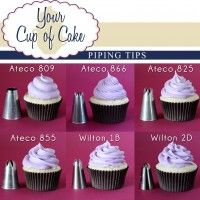 """How to Pipe a """"Rose"""" Cupcake - Your Cup of Cake"""