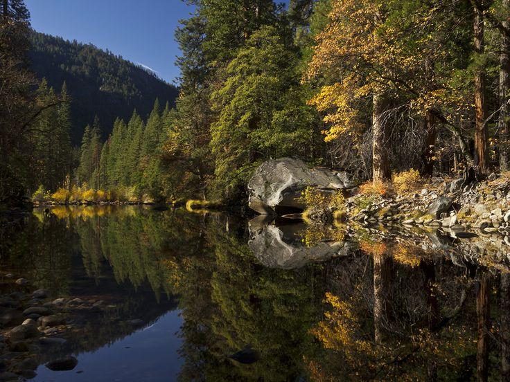 Долина чудес... Национальный парк Йосемити. Калифорния