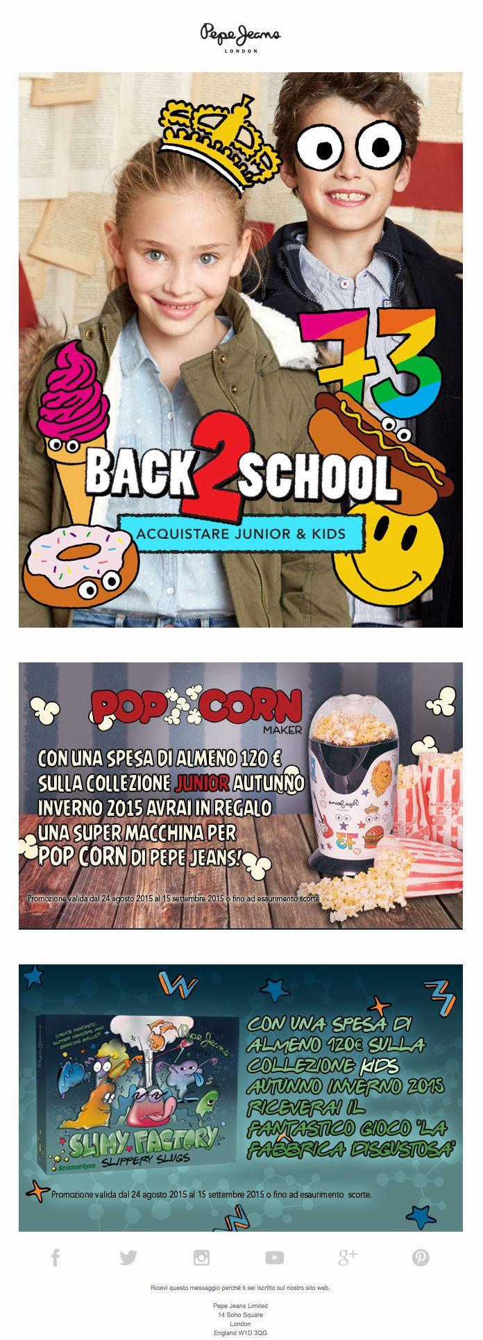 Pepe Jeans | BACK 2 SCHOOL ✏️ Allena il tuo cervello con mostri e popcorn!